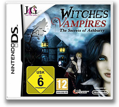 Witches & Vampires - The Secrets of Ashburry DS cover (BWVH)