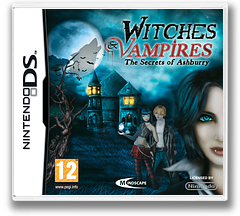 Witches & Vampires - The Secrets of Ashburry DS cover (BWVP)