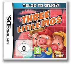 Tales to Enjoy! - The Three Little Pigs DS cover (BX4P)
