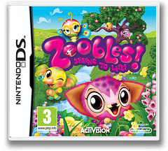 Zoobles! Spring to Life! DS cover (BZ6P)