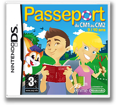 Passeport du CM1 au CM2 DS cover (C2CF)