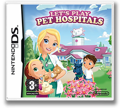 Let's Play Pet Hospitals DS cover (C2HP)