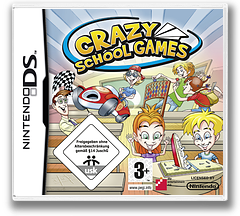 Crazy School Games DS cover (C2ZP)