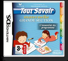 Tout Savoir Maternelle Grande Section - L'Essentiel du Programme DS cover (C5XF)
