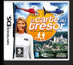 La Carte au Tresor - Le Jeu Video Officiel DS cover (C68F)