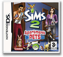 The Sims 2 - Apartment Pets DS cover (CAPP)