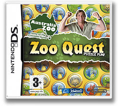 Zoo Quest - Puzzle Fun! DS cover (CCZP)