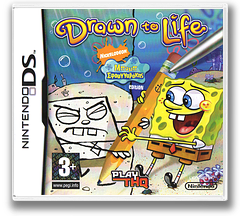 Drawn to Life - SpongeBob SquarePants Edition DS cover (CDLG)