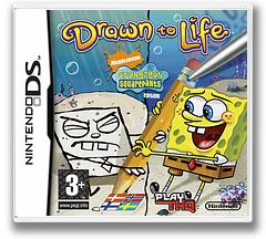 Drawn to Life - SpongeBob SquarePants Edition DS cover (CDLX)