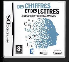 Chiffres et des Lettres, Des - L'Entrainement Cerebral Maximum! DS cover (CDMF)