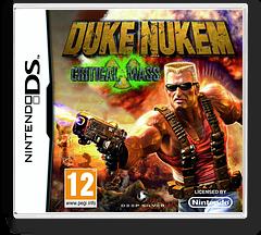 Duke Nukem - Critical Mass DS cover (CDNP)