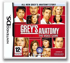 Grey's Anatomy - The Video Game DS cover (CG5P)