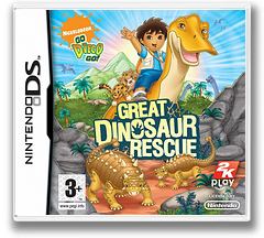 Go, Diego, Go! - Great Dinosaur Rescue DS cover (CGDP)