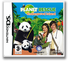 Planet Rescue - Endangered Island DS cover (CGQP)