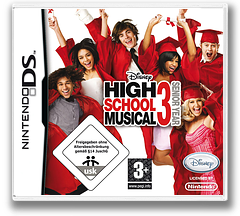 High School Musical 3 - Senior Year DS cover (CHMP)