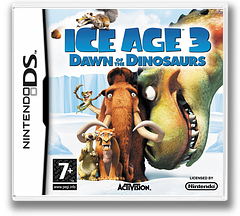 Ice Age 3 - Dawn of the Dinosaurs DS cover (CI3P)