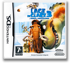 Ice Age 3 - Dawn of the Dinosaurs DS cover (CI3Y)