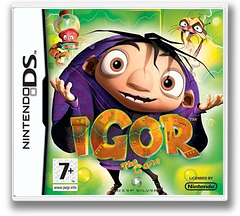Igor - The Game DS cover (CI5P)