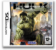 The Incredible Hulk DS cover (CIHP)
