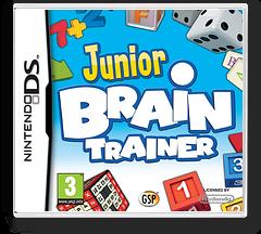 Junior Brain Trainer DS cover (CJWP)