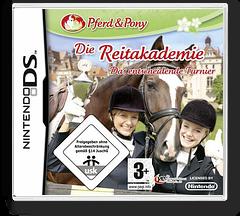 Pferd & Pony - Die Reitakademie - Das Entscheidende Turnier DS cover (CJXP)