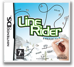 Line Rider - Freestyle DS cover (CLRP)