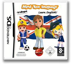 Mind Your Language - Learn English! DS cover (CMWP)