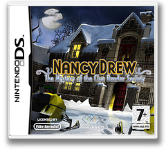 Nancy Drew - The Mystery of the Clue Bender Society DS cover (CNMP)