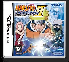 Naruto - Ninja Destiny II - European Version DS cover (CNRP)