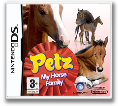 Petz - My Horse Family DS cover (CP8P)