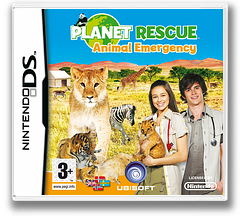 Planet Rescue - Animal Emergency DS cover (CPVP)