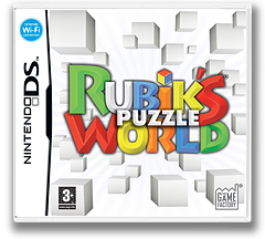 Rubik's Puzzle World DS cover (CRWP)