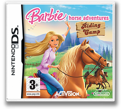 Barbie Horse Adventures - Riding Camp DS cover (CSCP)