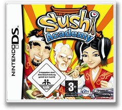 Sushi Academy DS cover (CSDP)