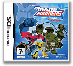 Transformers Animated - The Game DS cover (CTFP)