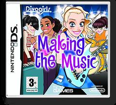 Diva Girls - Making the Music DS cover (CV5P)