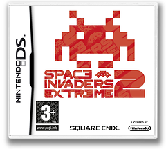 Space Invaders Extreme 2 DS cover (CV8P)