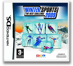 Winter Sports 2009 - The Next Challenge DS cover (CWSP)