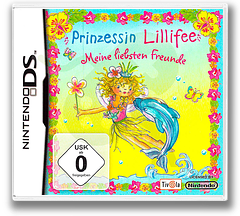 Princess Lillifee - My Dearest Friends DS cover (CYLP)