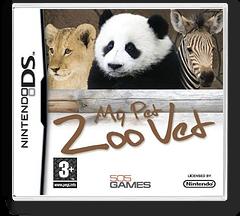 My Pet Zoo Vet DS cover (CZVP)