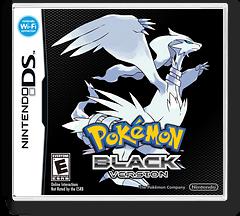Pokémon - Black Version DSi cover (IRBO)