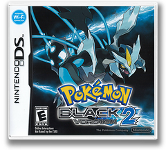 Pokémon - Black Version 2 DSi cover (IREO)
