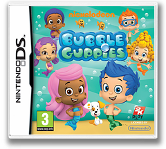 Bubble Guppies DS cover (TBGP)