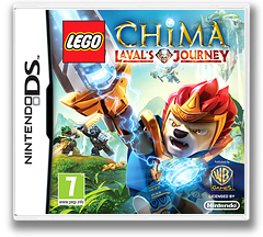 LEGO Legends of Chima - Laval's Journey DS cover (TCBF)