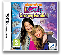 iCarly - Groovy Foodie! DS cover (TCLP)