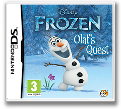 Disney Frozen - Olaf's Quest DS cover (TFBX)