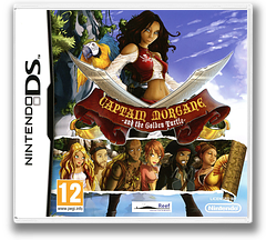 Captain Morgane and the Golden Turtle DS cover (TGTP)