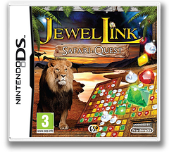 Jewel Link - Safari Quest DS cover (TJSP)