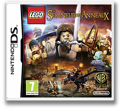 LEGO The Lord of the Rings DS cover (TLRX)