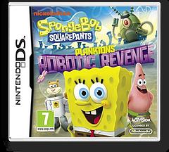 SpongeBob SquarePants - Plankton's Robotic Revenge DS cover (TLUP)